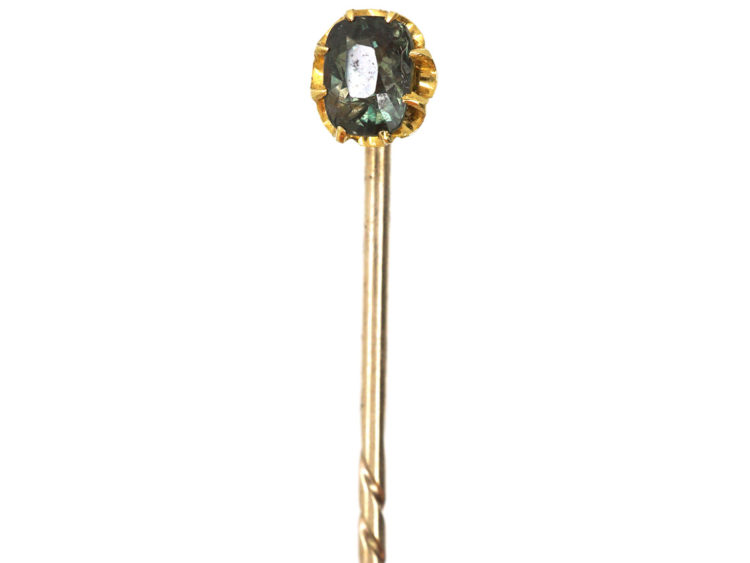 Edwardian Alexandrite Tie Pin