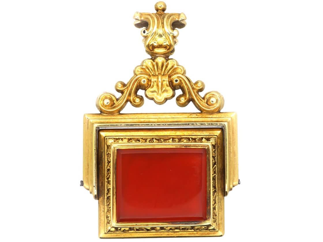 William 1V Three Colour Gold Seal