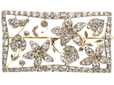 Antique jewellery flowers