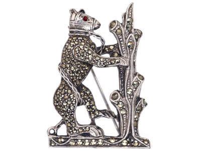 Antique jewellery bear
