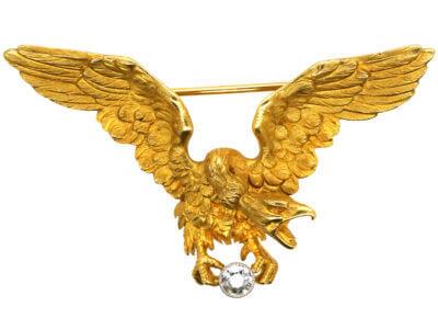 Antique jewellery eagle