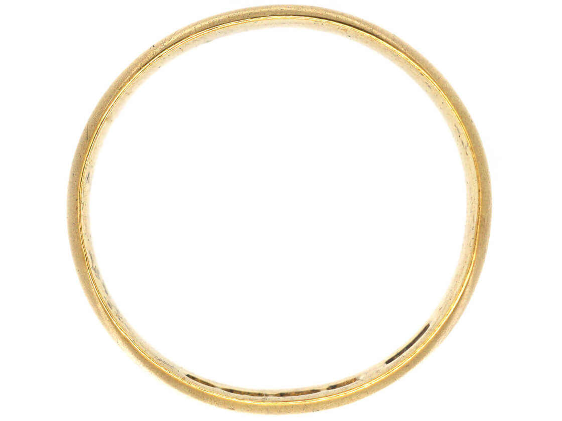Victorian 22ct Gold Wide Wedding Band