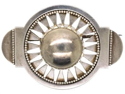 Antique jewellery sun