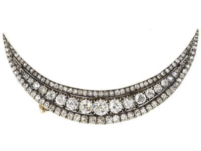 Antique jewellery crescen
