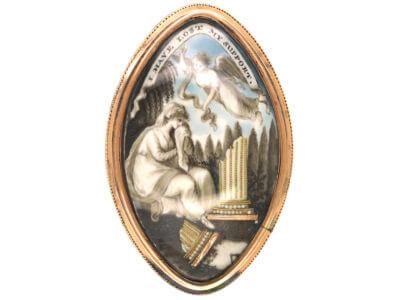 Antique jewellery angels