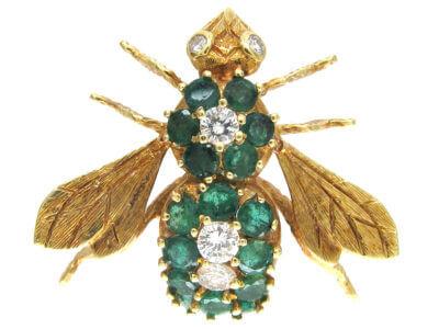 Antique jewellery bee