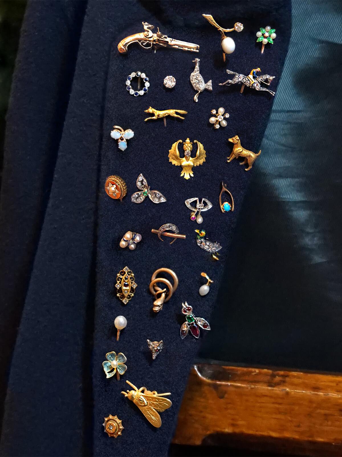 vintage tie pins
