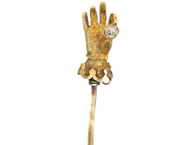 Antique jewellery hand