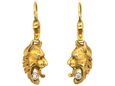 Antique jewellery griffin
