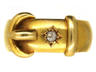 Antique jewellery buckle