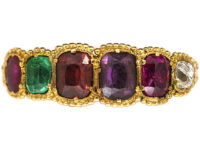 Regency 18ct Gold Regard Ring