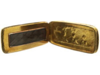 Georgian 15ct Gold Locket Spelling Love
