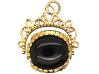 9ct Gold Swivel Seal