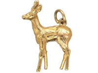 9ct Gold Fawn Charm
