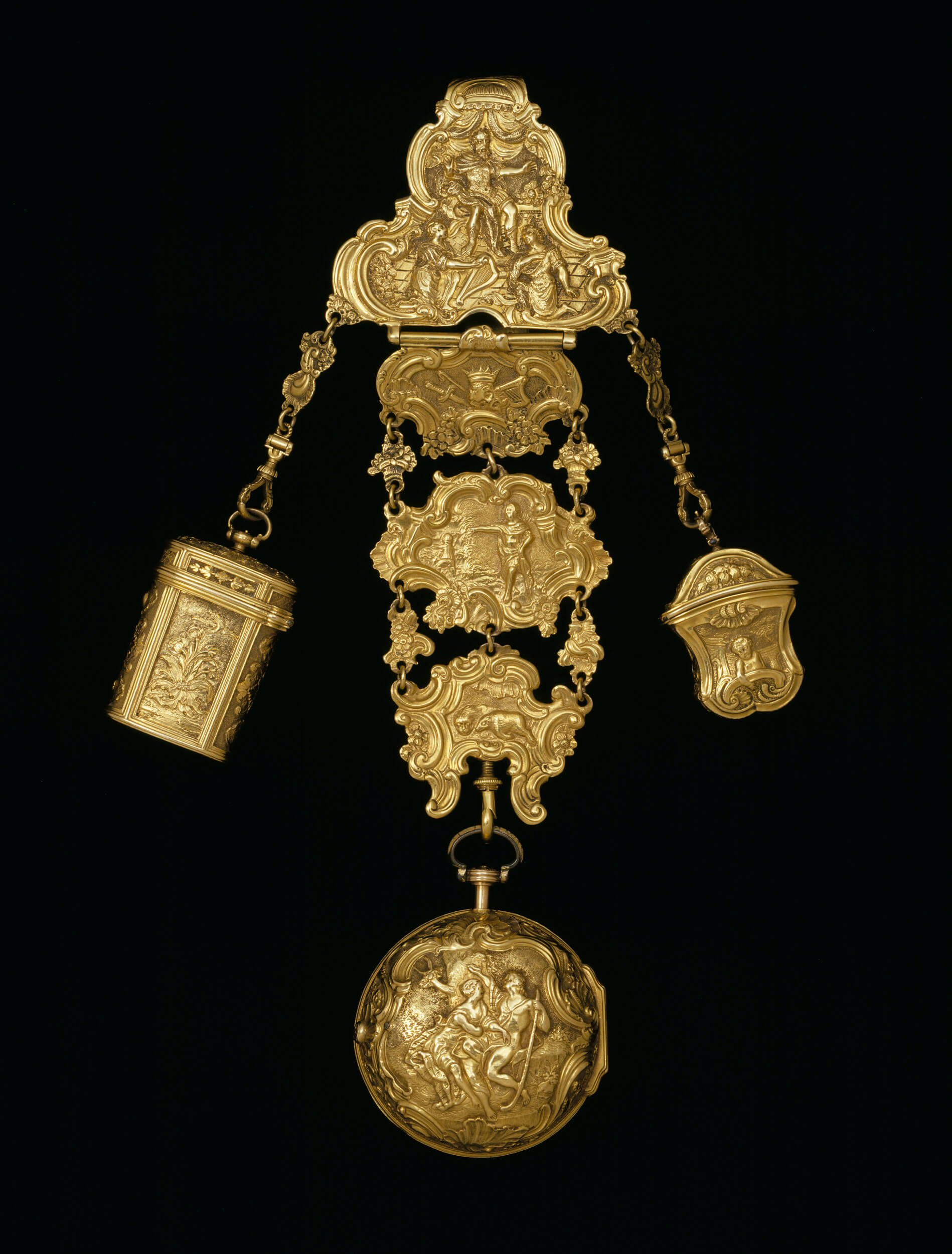 Georgian chatelaine
