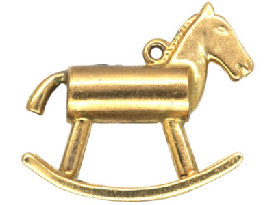 9ct Gold Rocking Horse Charm