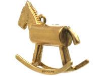 9ct Gold Rocking Horse Charm
