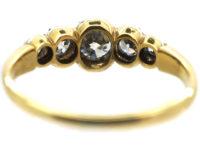 William 1V 18ct Gold Five Stone Diamond Ring