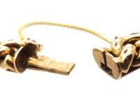 Edwardian 15ct Gold Interlinked Hearts Design Bracelet