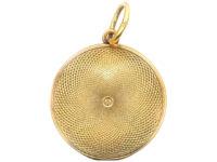 Georgian 18ct Gold Round Locket