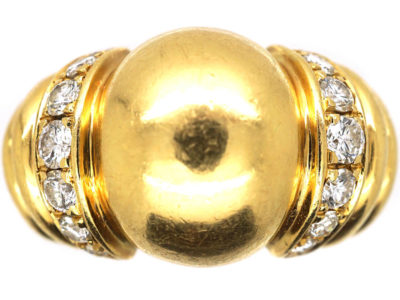 Vintage 18ct Gold & Diamond Ring by Boucheron