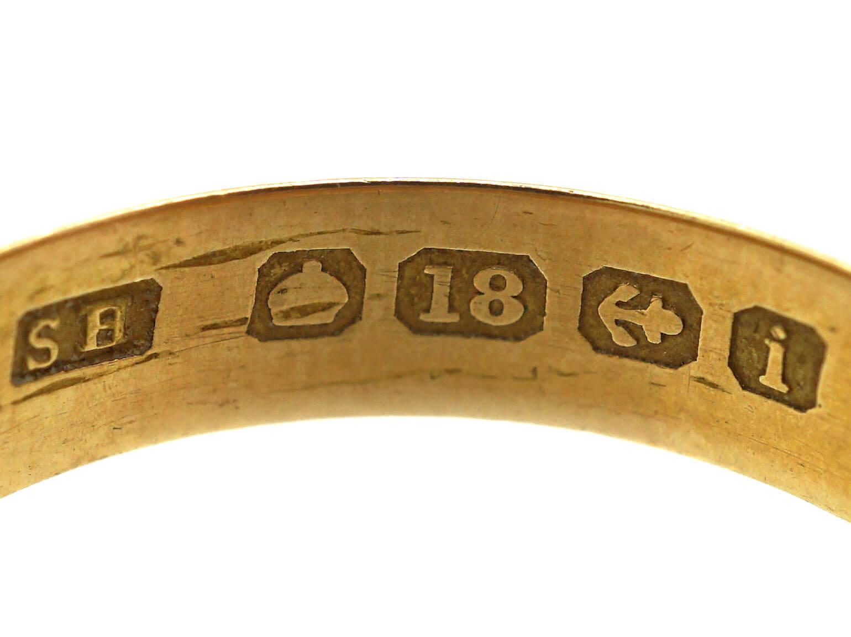 Edwardian 18ct Gold Wedding Ring