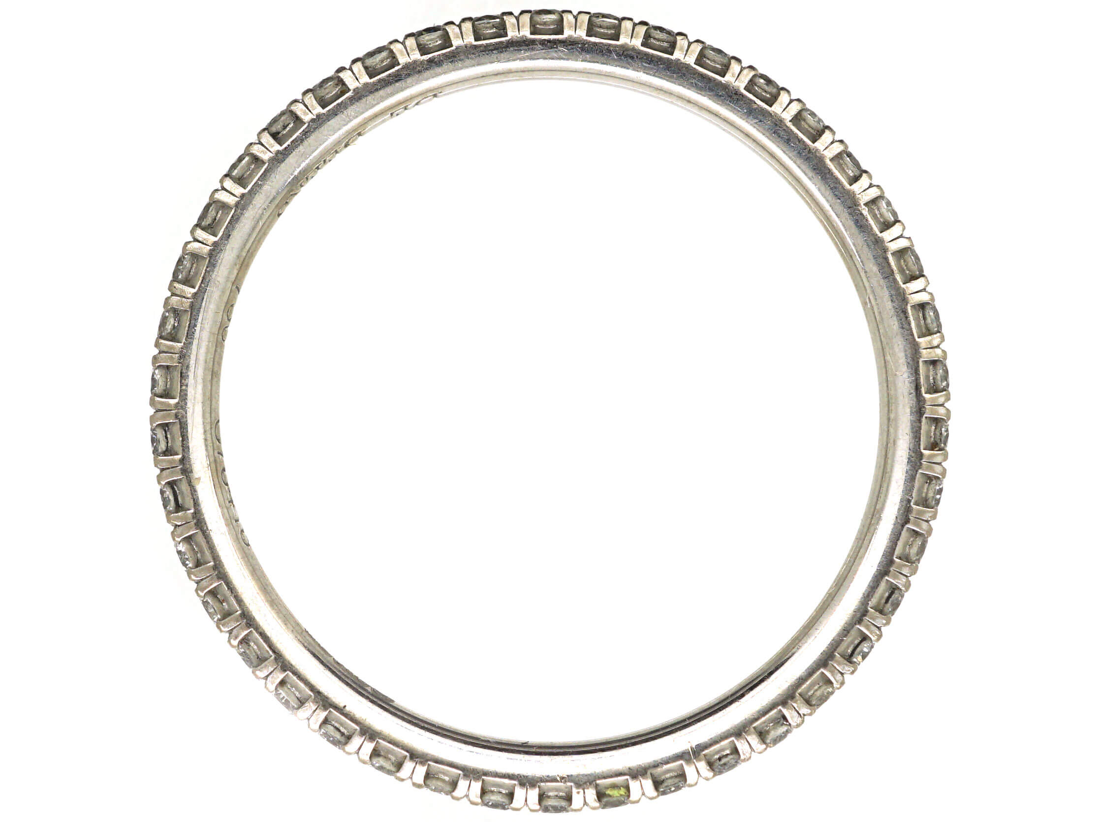 18ct White Gold & Diamond Eternity Ring by De Beers