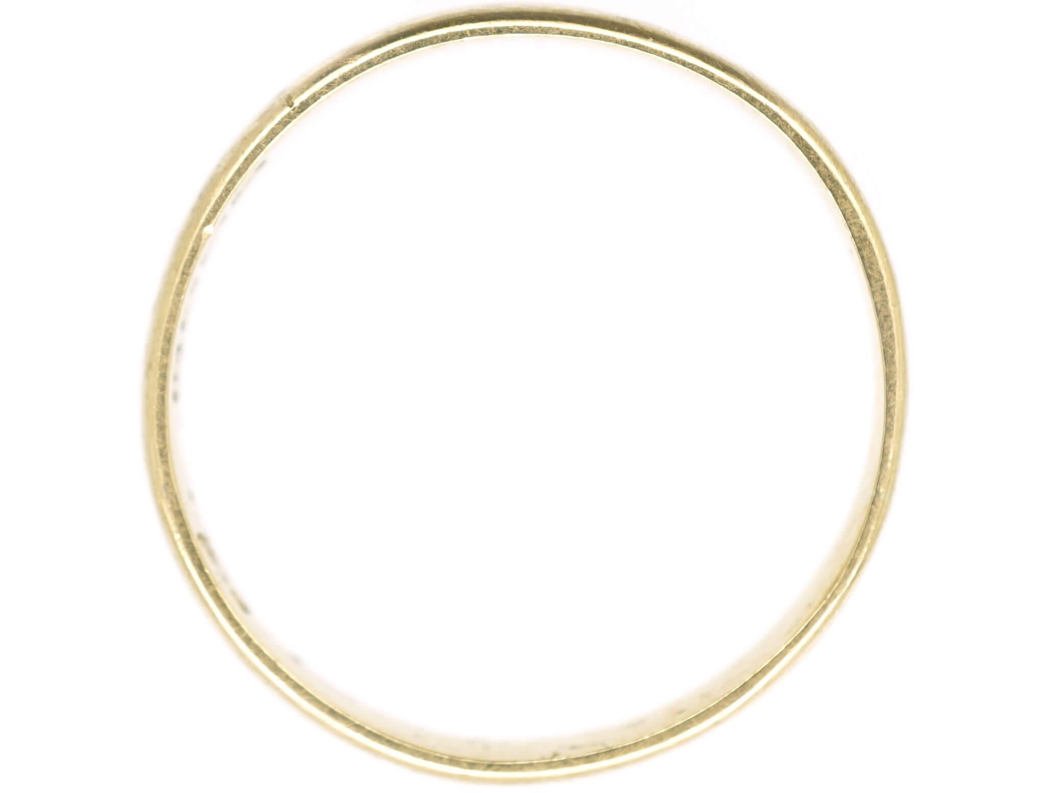 Edwardian 18ct Gold Wedding Band