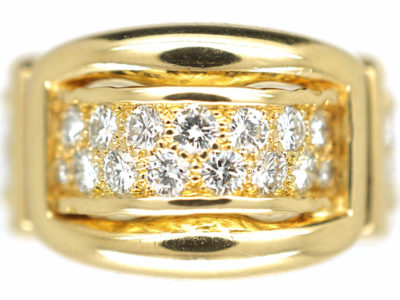 18ct Gold & Diamond Ring by Asprey of London