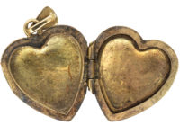 9ct Gold Heart Shaped Locket