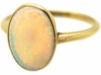 Edwardian 18ct Gold & Opal Ring