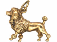 9ct Gold French Poodle Charm