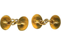 Victorian Small Child's 18ct Gold Cufflinks