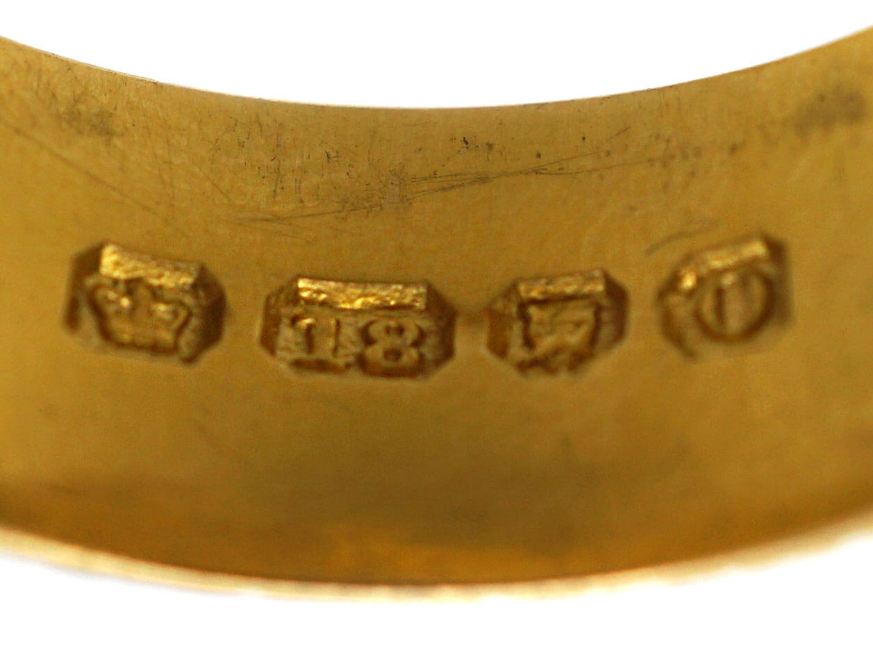 Victorian 18ct Gold Buckle Ring