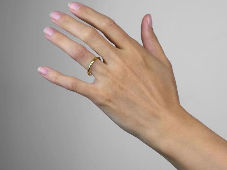 Cartier 18ct Gold Wedding Band