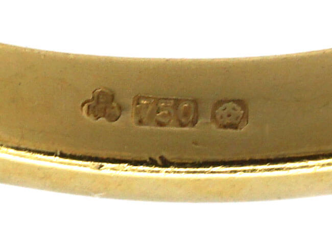 18ct Gold & Half Carat Diamond Solitaire Ring