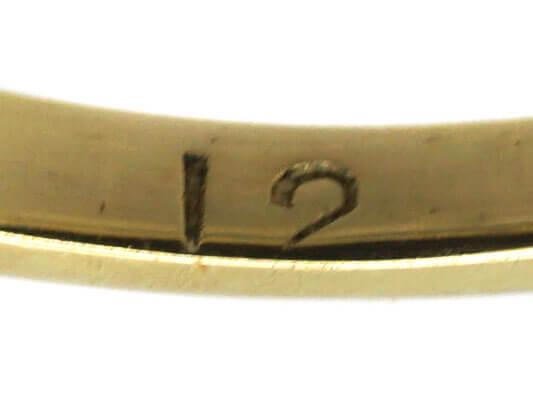 Edwardian 18ct Gold & Platinum, Three Stone Sapphire & Diamond Ring