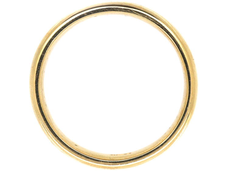 9ct Gold Man's Wide Wedding Band