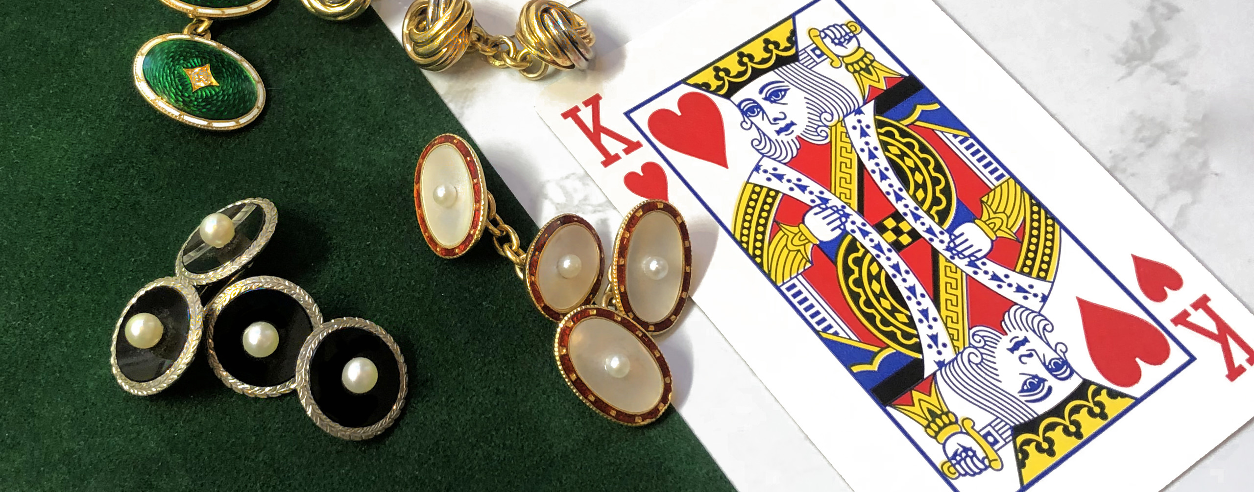 A Guide to Antique & Vintage Jewellery for Men