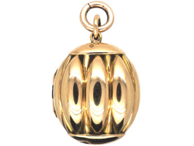 Victorian 15ct Gold Water Melon Locket