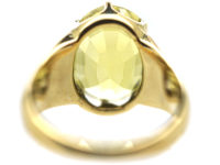 Victorian 18ct Gold & Chrysoberyl Ring
