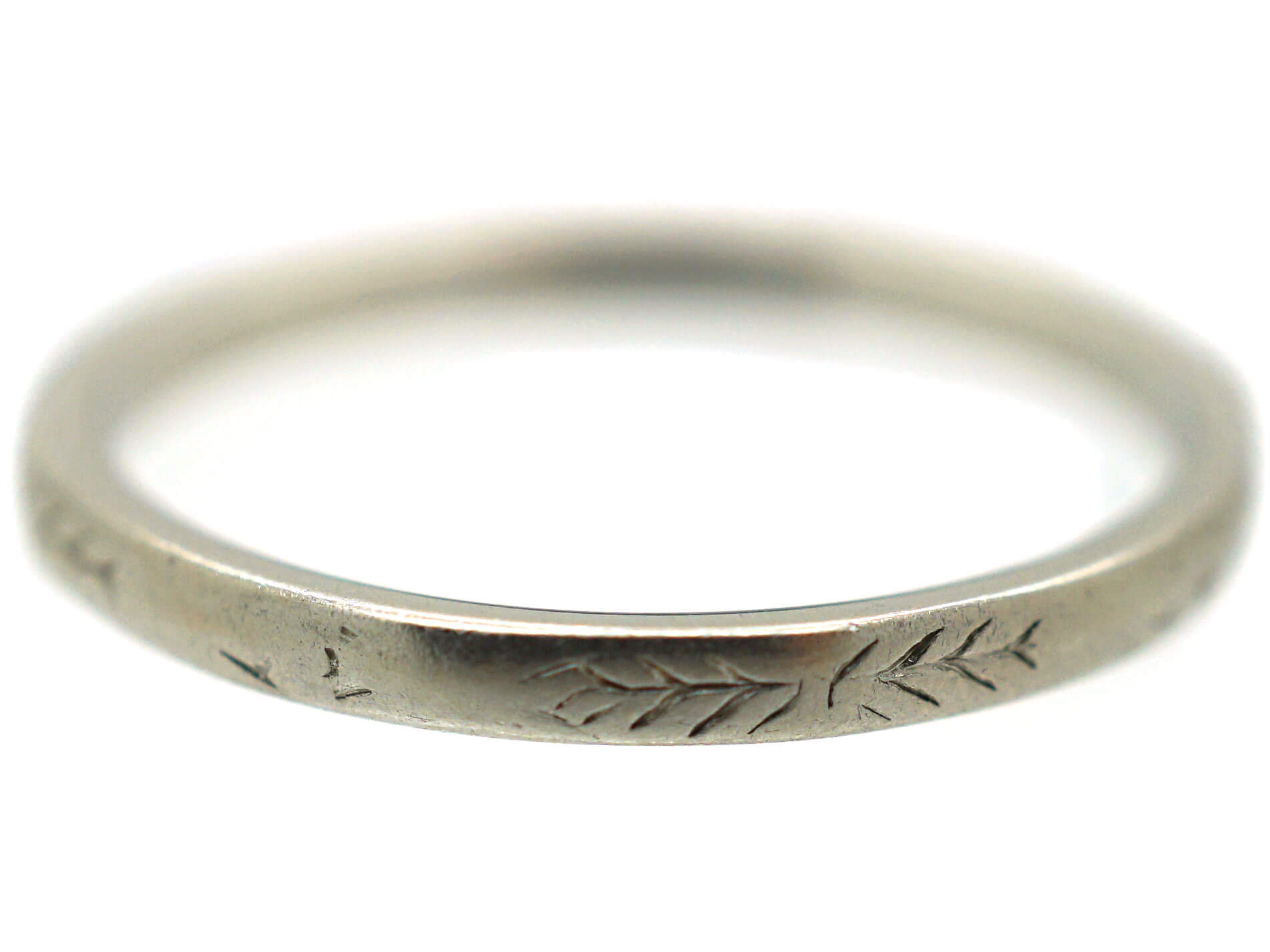Art Deco Platinum Eternity Ring