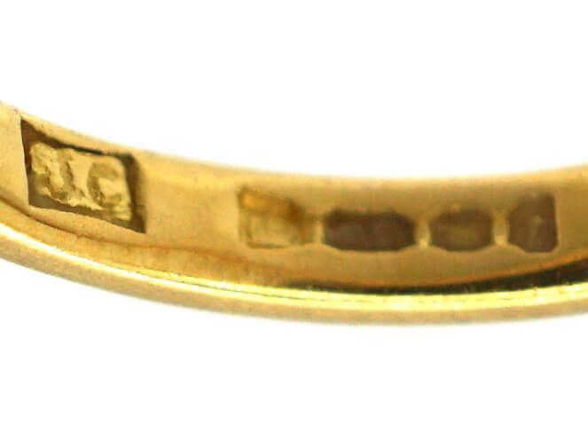 22ct Gold Small Wedding Band