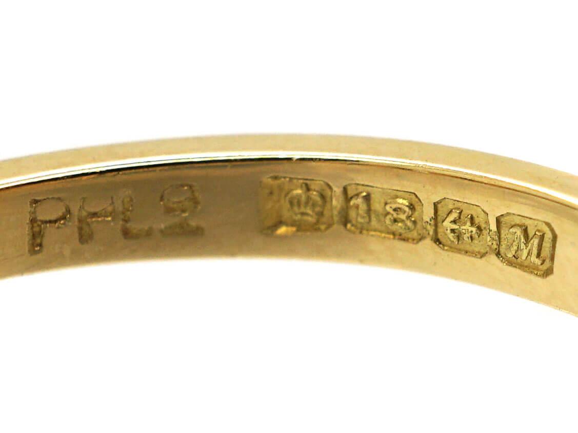 18ct Gold & Platinum, Three Stone Diamond Ring