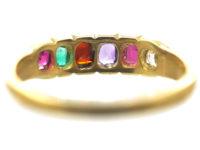 Victorian 18ct Gold Regard Ring