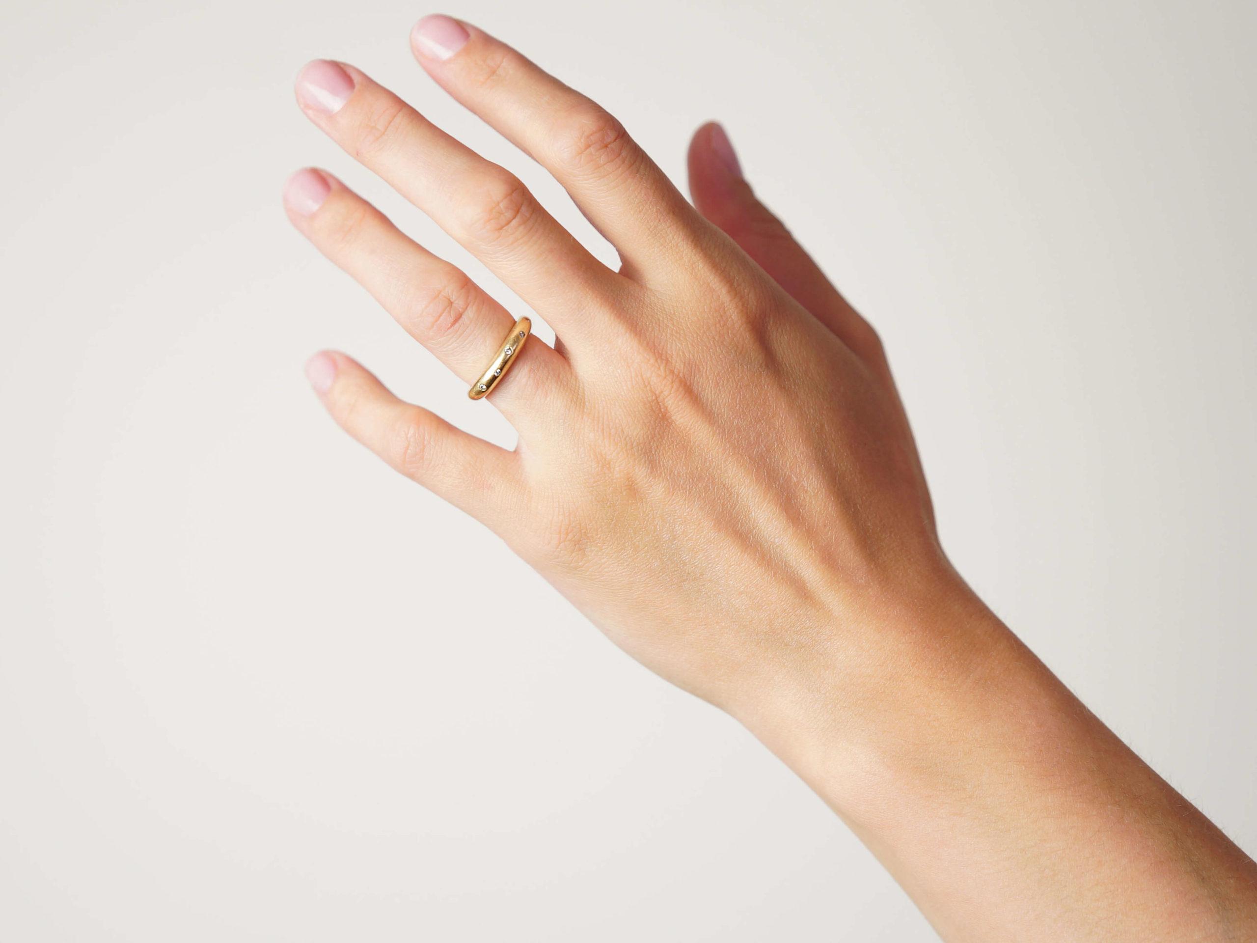 14ct Gold & Diamond Ring