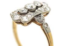 Edwardian 14ct Gold & Platinum, Diamond Ring
