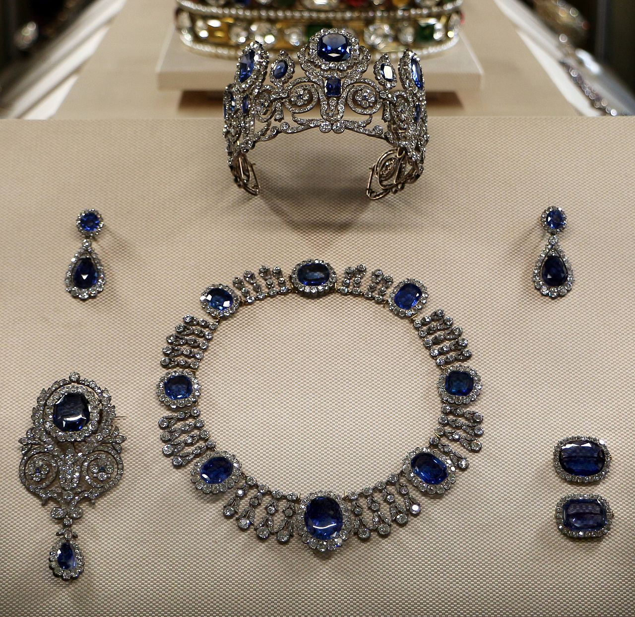 The Sapphire Parure of Queen Maria Amélie of France