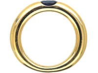 18ct Gold & Sapphire Ring by Cartier
