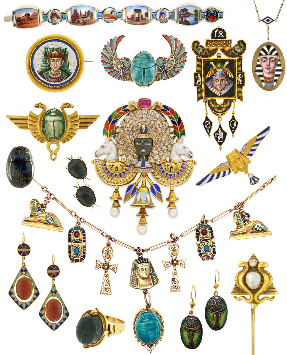 Egyptian Revival jewellery
